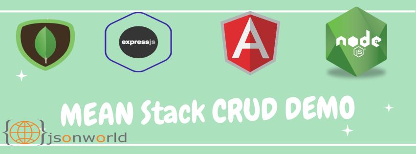 Angular6 CRUD Application with NodeJS and Mongodb | JSON World