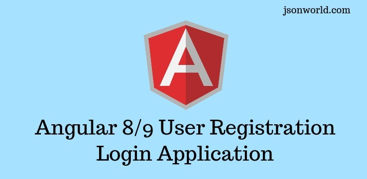 Angular 8/9 User Registration and Login Example and Tutorial