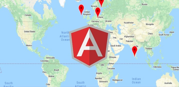 Integrate Google Maps in Angular Application