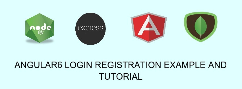Angular6 Login And Registration Example And Tutorial | JSON