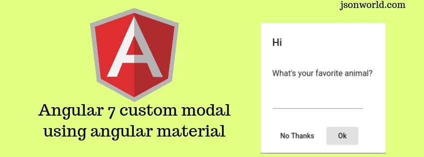 Angular Sample Projects | JSON World