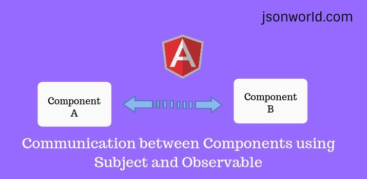 Angular 8/9  Communication between Components using Subject and Observable