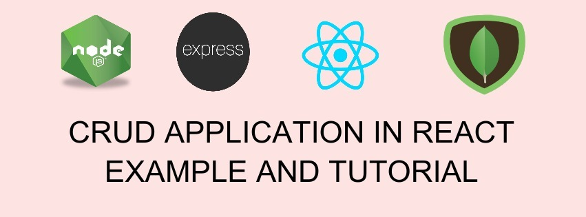 CRUD Application in React Example and Tutorial